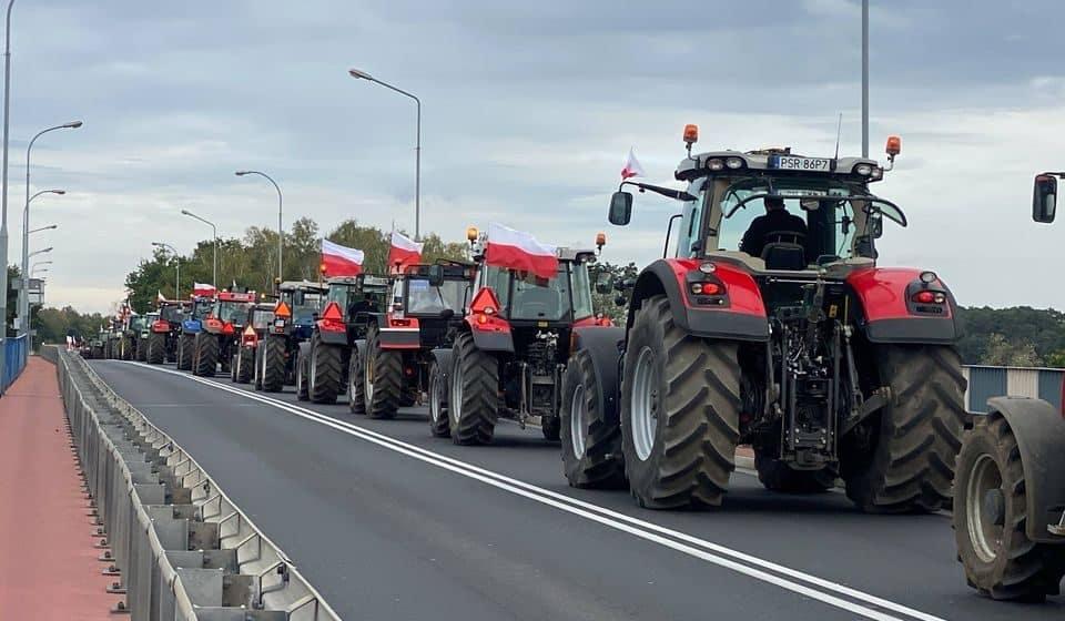 Piątka dla zwierząt. Rolnicy wyjechali na ulice. Gdzie pojawią się utrudnienia w ruchu?