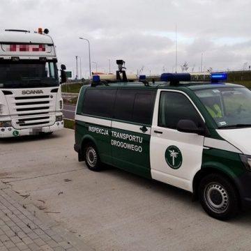 Surowa kara. Kierowca przewoził zboże stwarzającą zagrożenie ciężarówką