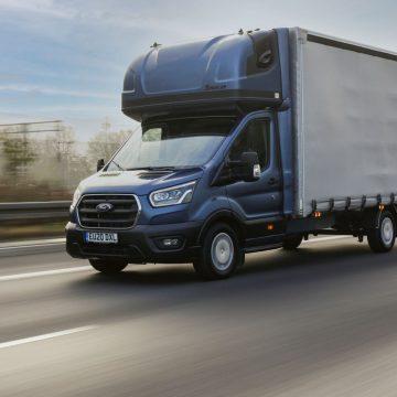 Ford pokazał model Transit L5 z kabiną sypialną
