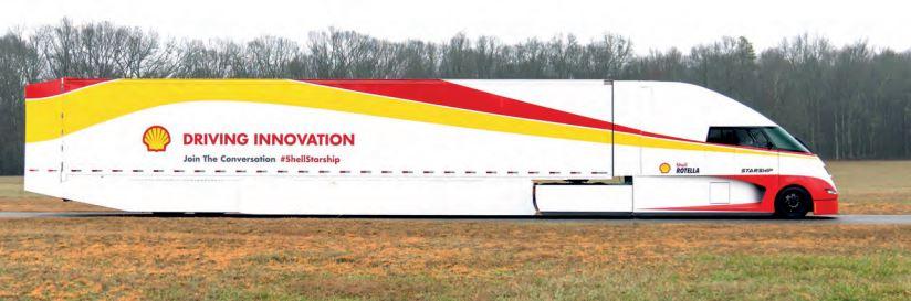 Niecodzienna ciężarówka marki Shell rusza w trasę