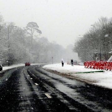 Niemcy walczą ze śniegiem – zakazy ruchu dla pojazdów ciężarowych!
