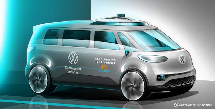 Volkswagen kontynuuje prace nad autonomicznymi samochodami dostawczymi!
