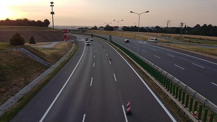 Podkarpackie: utrudnienia na odcinku A4 Przemyśl-Korczowa w kierunku rzeszowa