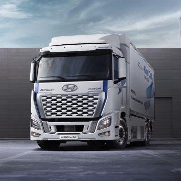 Hyundai: wodorowa ciężarówka XCIENT zyskała nowy design i lepsze osiągi