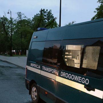 Kraków: Inspekcja Transportu Drogowego wykazała nieprawidłowości czasu pracy kierowcy