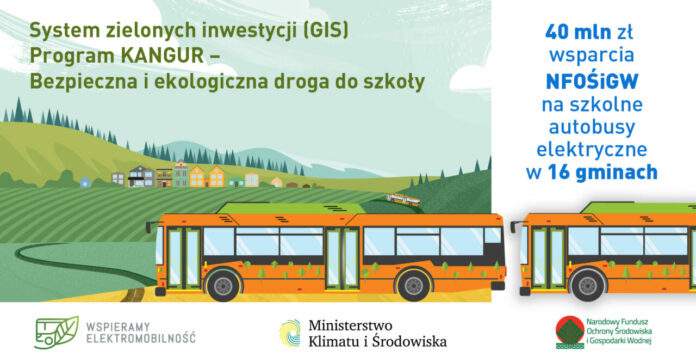 40 milionów na ekologiczny transport dzieci do szkół na obszarach wiejskich