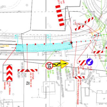 Od 28 lipca obowiązuje zmieniona organizacja ruchu na DK nr 7. Ograniczenie do 30 km/h!